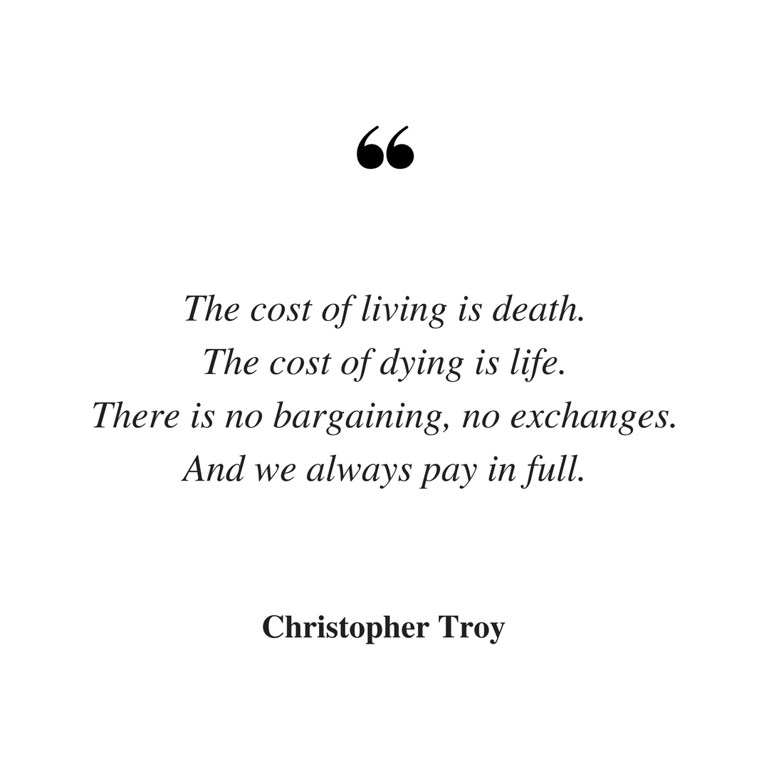 christopher troy writer