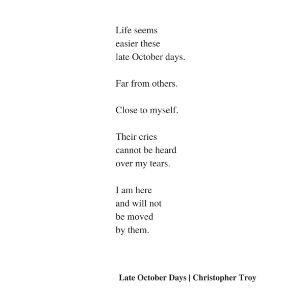 christopher troy poetry